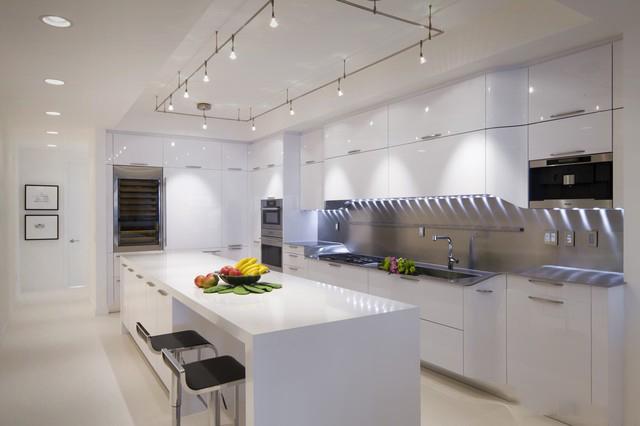 Tủ bếp acrylic hiện đại cao cấp chống trầy 6H